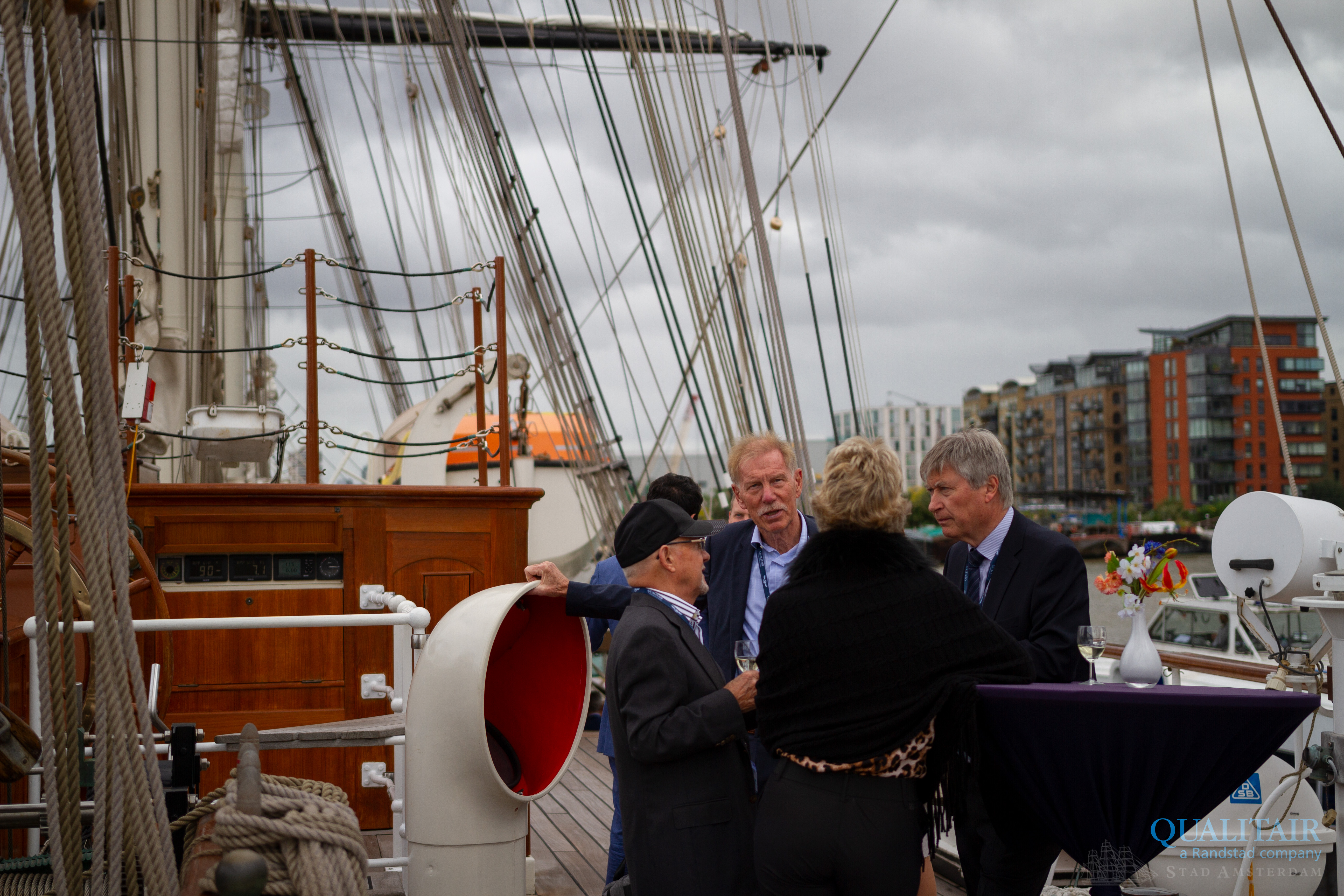 Qualitair 50th on the Stad Amsterdam 1
